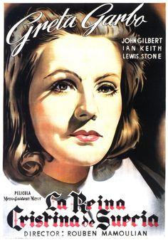 La reina Cristina de Suecia (1933) EEUU. Dir: Rouben Mamoulian. Drama. Biográfico. S. XVII. Feminismo. Homosexualidade - DVD CINE 900