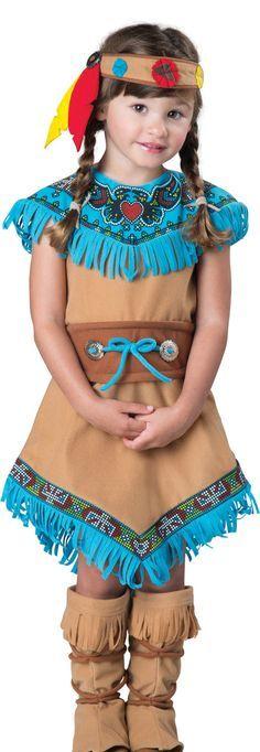 Little Indian Princess Kids Costume - Mr. Costumes