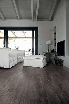 Vloertegel CTC Wooden Tile Collection 20x180x1 cm Black 1,44M2 ✓Altijd de goedkoopste ✓Gratis bezorging ✓3 jaar garantie