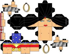 Wonder Woman Cubeecraft