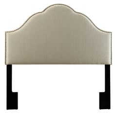 Giada Upholstered Headboard in Beige | Joss & Main