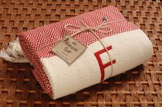 Personalized Turkish Towel HandWoven RED Diamond COTTON PESHTEMAL Towel - Monogrammed Embroidered - Bachelorette Party Beach Wedding by NaturalSoft on Etsy https://www.etsy.com/listing/165260467/personalized-turkish-towel-handwoven-red
