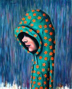 April Showers - Oil on canvas 24x30