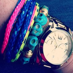 @merc_g wearing #theropes #theropesmaine #portland multi-strand style #bracelet #armsituation #armparty #armcandy