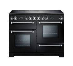 Buy a used Rangemaster Kitchener 110 Dual Fuel Range Cooker. ✅Compare prices by UK Leading retailers that sells ⭐Used Rangemaster Kitchener 110 Dual Fuel Range Cooker for cheap prices. Electric Range Cookers, Dual Fuel Range Cookers, Electric Hob, Electric Cooker, Foyers, Wok, Black Range Cooker, Black Cooker, Rangemaster Cookers