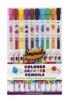 Amazon.com: Colored Smencils 10 Pack: Toys & Games