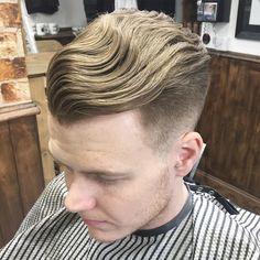 Haircut by mark_hardgrind http://ift.tt/1VXKnZa #menshair #menshairstyles #menshaircuts #hairstylesformen #coolhaircuts #coolhairstyles #haircuts #hairstyles #barbers