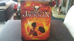 """""""Percy Jackson y la batalla del laberinto"""" escrito por Rick Riordan."""