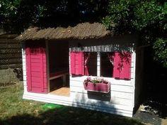 Cabane pour enfant en palettes 6m² Instructions de...