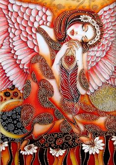me wp-content uploads 2014 01 Dream-of-Angel-by-St.-Painted-with-the-stained-glass-paints-and-contours.-Stained-interpretation-based-on-the-work-of-artist-Sokolova. Dream Painting, Mirror Painting, Silk Painting, Snow Artist, Glass Painting Designs, Stained Glass Paint, Beginner Painting, Angel Art, Graphic
