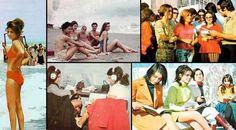 İran ve Kadın... İran'da kadın olmak zor. Hele de özgür bir yaşam tarzından gelinmişse daha da zorlaşıyor. Eski fotoğrafları Devrim öncesi İran ve kadın...