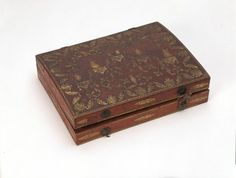 counter box, used to store playing cards and jetons c. 1770-1800