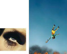 Alex Prager, 10.58 am, Bunker Hill end Eye #7 (suicide) 2012 © Alex Prager, courtesy M+B Gallery