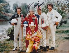 Darrel Waltrip, Dave Marcis, David Pearson, Richard Petty, Cale Yarborough | Classic Nascar | Flickr - Photo Sharing!