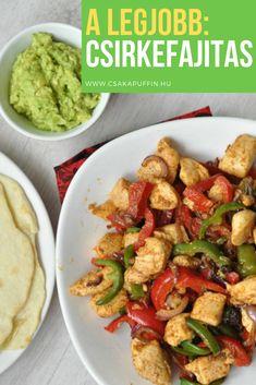 Csirkefajitas Fajitas, Kung Pao Chicken, Lime, Ethnic Recipes, Food, Cilantro, Limes, Essen, Meals