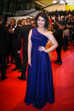 Avika Gor stuns fans in a blue gown at Cannes 2016 red carpet. #Bollywood #Fashion #Style #Beauty #Hot #Sexy