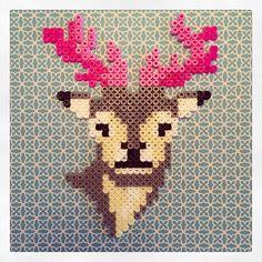 Deer hama perler