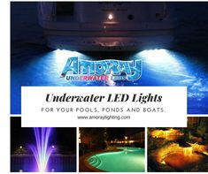 These high-quality Nicheless LED Underwater Lights are Corrosion free,Waterproof & to be used for Pools,Ponds,Lakes,Fountains Inground Pool Lights, Underwater Led Lights, Ponds, Lakes, Fountain, Boat, Decorating, Lighting, Free