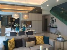 D Island, Puchong, Cyberjaya, Putrajaya - == NEW LAKESIDE 2 STOREY SEMI-D @ PUCHONG == Phase 1 (86 units only) LA 40×80 BU 3,968sf 5+1 rooms + 6 bathrooms 14ft ceiling height Contemporary modern design North-south orentation Gated & guarded community 30,000ft club house with facilities FREE 2 yrs maintenance fees FREE S&P legal fees & MOT Rebate 7% Bumi discount 7% Booking 10,000 only Amenities: Education: Fairview Internation School Monash University Sunway