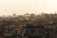 City on the roof, Ahemdabad