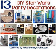 13 DIY Star Wars Party Decorations
