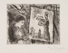 The Story of the Exodus: Moses then came and called for the elders, 1966,  Marc CHAGALL,(1887-1985)  Color lithograph on Vélin d'Arches paper,  20 x 14 1/2 inches,  #131725