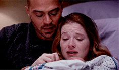 Pin for Later: 22 Grey's Anatomy Moments That Give Hope For Jackson and April's Reconciliation When Their Hearts Break at the Exact Same Time