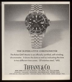 rolex ad Modern Watches, Luxury Watches, Cool Watches, Watches For Men, Antique Watches, Vintage Watches, Vintage Rolex, Vintage Ads, Gents Watches