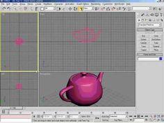 3DsMax5   01강 맥스의 화면 구성과 조정방법 커멘드페널의 구성