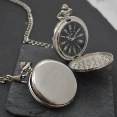Are you interested in our engraved pocket watch? With our personalised pocket watch you need look no further.
