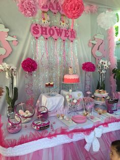 Decorations for my baby shower turned out amazing