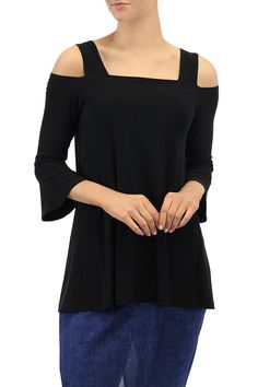 This top features asquare shaped neckline cap sleeve with keyhole cut out detail on shoulder.  Length: 70cms from top of shoulder to longest point; Sizes are Australian. AUS 4 = US 1; AUS 6 = US 2; AUS 8 = US 4; AUS 10 = US 6; AUS 12 = US 8; AUS 14 = US 10; AUS 16 = US 12; AUS 18 = US 14; AUS 20 = US 16   Jersey Milano Top by Motto. Clothing - Tops Melbourne Victoria Australia