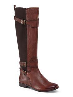 Leather Tall Riding Boot - Riding - T.J.Maxx