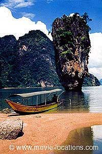 Film locations for The Man With The Golden Gun in Thailand and Hong Kong. Ao Phang Nga National Park, James Bond Island, James Bond Movies, Filming Locations, Phuket, Vacation Destinations, Hong Kong, Thailand, Tower