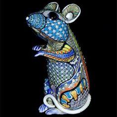 Mice 9-12 - David Burnham Smith - Master Ceramic Artist