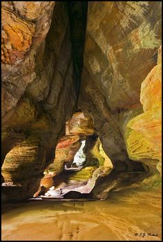 "Hocking Hills Rock House,amazing!  The only ""true"" cave in the park, a grand tunnel – like corridor midway up a 150-foot cliff, located on State Route 374 and Thompson Road."
