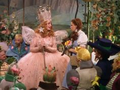 I was Glinda for an impromptu Halloween- and it was the best costume ever! My mom is the bestest! @Michelle Emerson