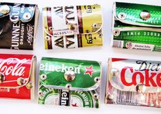 Recycled Tin Can Wallet/Purse - buy from http://www.recycleopedia.com/shop-recycled/product-pages/0001---tin-can-wallet-purse