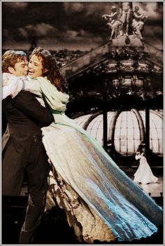 Raoul and Christine from the 25th anniversary of Phantom of the Opera