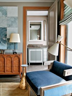 Квартира на бульваре Сен-Жермен, 150 м²   AD Magazine