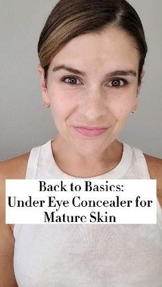 Beauty Makeup Tips, Beauty Skin, Beauty Hacks, Makeup Tricks, Under Eye Concealer, Makeup For Older Women, Natural Eye Makeup, Makeup For Beginners, Up Girl
