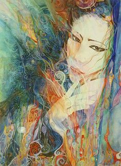 """Shinto Goddess Amaterasu 1"" par Helena Nelson-Reed"