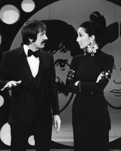 Sonny and Cher. I loved the way she looked at him.