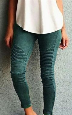 Boya - Pleat Jeggings