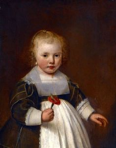 A Little Girl Jacob Gerritsz Cuyp (1594 – 1650, Dutch) Another sensitive portrait by this artist. I wonder why he is not very well known? (Just googled him; apparently he is best known for his  portraits of children and no one agrees how to spell his name.)