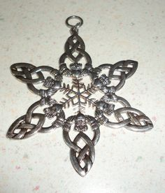 claddagh star pendant