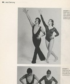 The official guide to Jazz dancing. Easy-to-follow instructions. Head looking toward jazz hand.