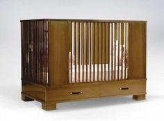 Morgan Modern Crib Design by Ducduc Modern Childrens Furniture, Modern Crib, Modern Home Furniture, Nursery Furniture, All Modern, Contemporary Cribs, Wooden Cribs, Best Crib, Walnut Wood