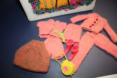 Vintage Barbie Doll Clothes with Purse and Boots by VintagebyViola, $9.00