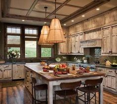 Kitchen Designs & Kitchen Inspiration - Cultivate.com - The wood is so beautiful in this kitchen.